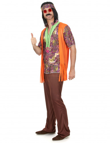Costume da hippie per adulto-1