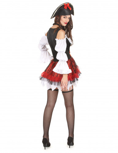 Vestito da piratessa sexy donna-2