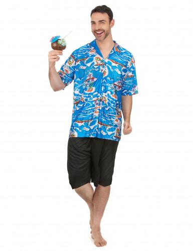 Costume da turista hawaiano da uomo