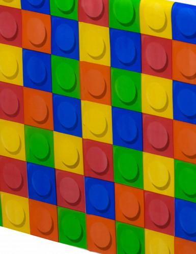 Tovaglia in plastica Gioco di costruzioni 137 x 260 cm-1
