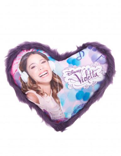 Cuscino di Violetta a cuore