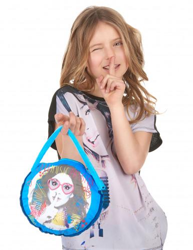 Borsetta azzurra Violetta™-3