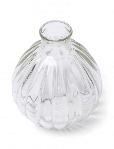 Mini vaso di vetro rétro 10 cm