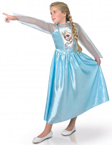 Costume raffigurante Elsa Frozen per bambina
