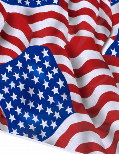 Tovaglia in plastica con i colori della bandiera USA-1