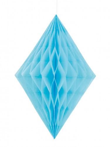 Decorazione a appendere a forma di diamante di colore blu
