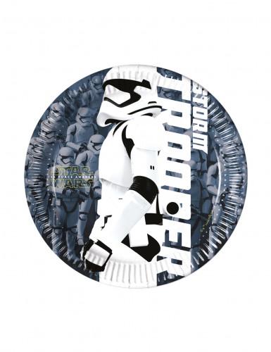 Confezione da 8 piattini Stormtrooper STAR WARS VII