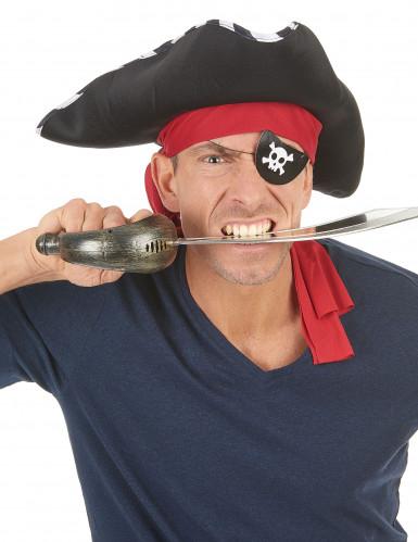 4 copriocchio in cartone da pirata-1