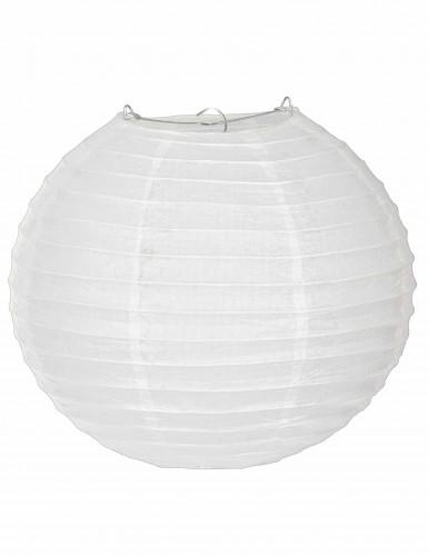 Lanterna giapponese bianca 25 cm