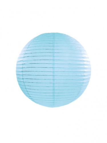 Lanterna giapponese celeste 25 cm