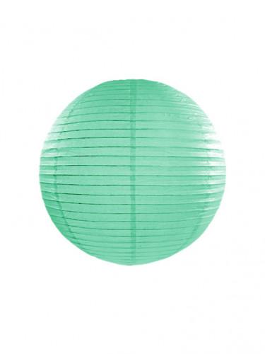 Lanterna giapponese color verde menta 25 cm