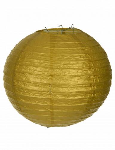 Lanterna giapponese 25 cm color oro