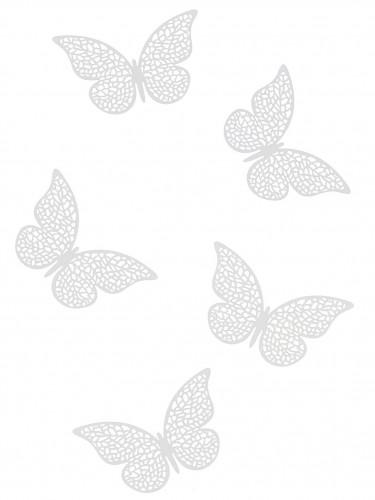 10 coriandoli da tavola a forma di farfalla