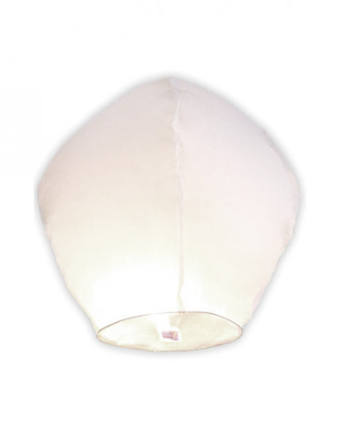 Lanterna volante bianca 86 cm