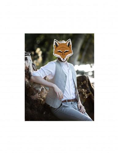 Maschera da volpe di carta-1