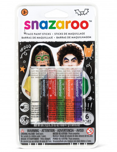 6 stick misti per make-up Halloween Snazaroo™