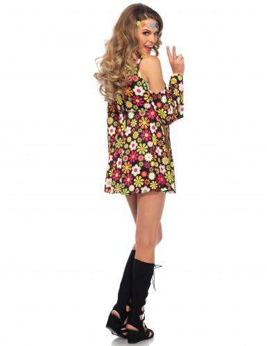 brand new e6676 8363f Vestito hippie figlia dei fiori