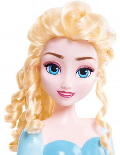 Testa giocattolo da pettinare: Elsa Frozen-1