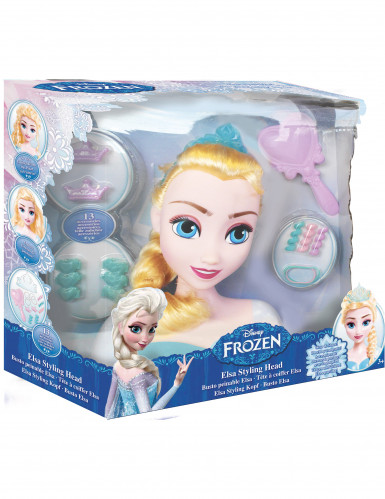 Testa giocattolo da pettinare: Elsa Frozen-2