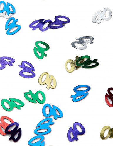 Confezione coriandoli colorati numero 40