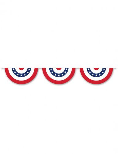 Ghirlanda festoni a stelle e strisce USA