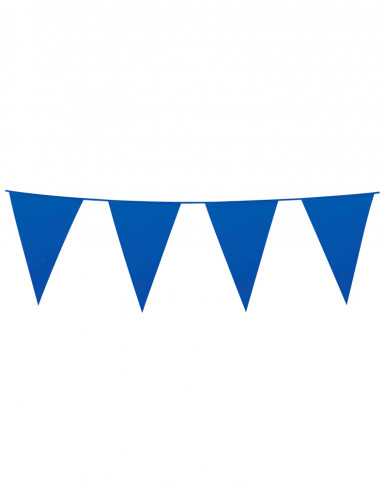 Festone bandierine blu