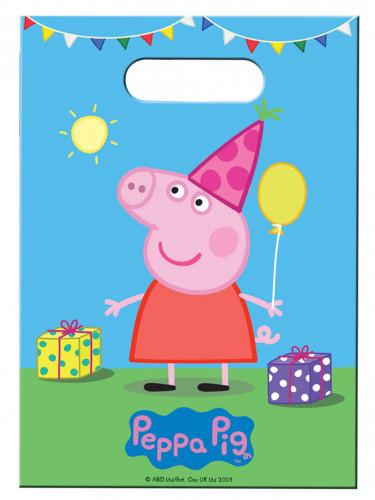 Lotto di 8 Sacchetti per caramelle Peppa Pig™