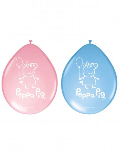 8 Palloncini in latex Peppa Pig™