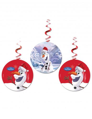 3 addobbi natalizi da appendere Olaf™