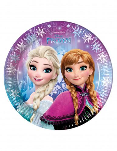 Piatti di carta di Elsa e Anna da Frozen™