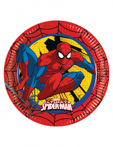 8 piatti di carta di Ultimate Spiderman™