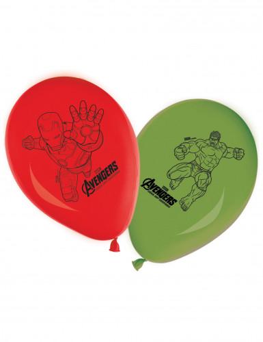 8 palloncini degli Avengers™ in lattice
