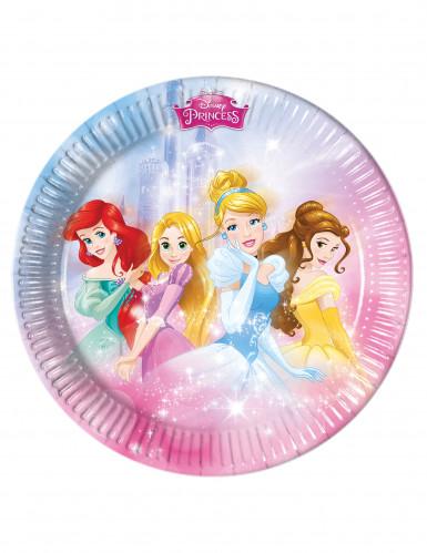 8 piatti di carta Principesse Disney™