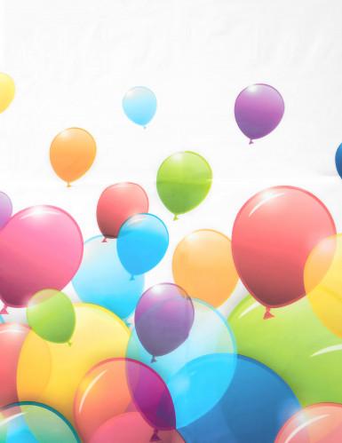 Tovaglia di plastica con palloncini volanti-1