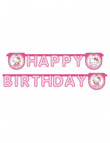 Ghirlanda di Hello Kitty™ Happy Birthday