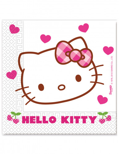 20 tovaglioli di carta Hello Kitty™
