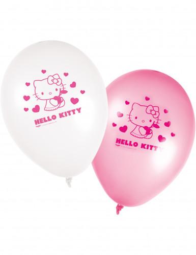 8 palloni Hello Kitty