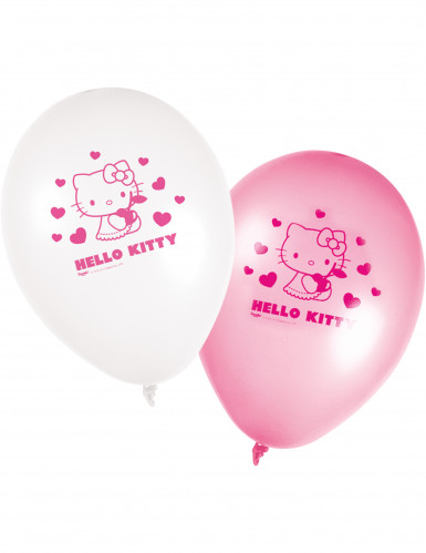 8 palloni Hello Kitty
