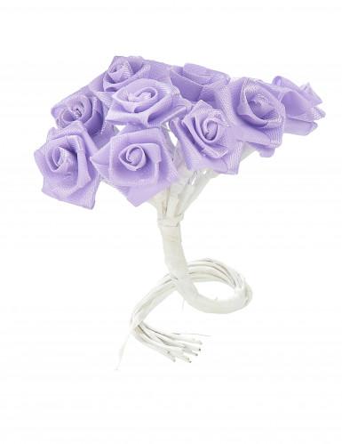 72 mini rose in raso lilla-1