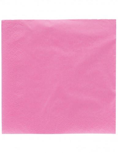 50 tovaglioli rosa scuro