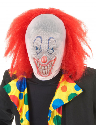 Passamontagna da clown per Halloween