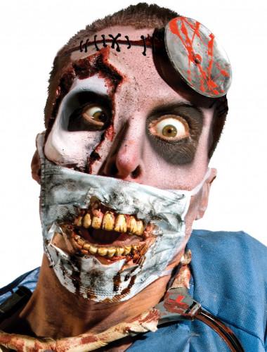 Maschera da chirurgo zombie per adulti