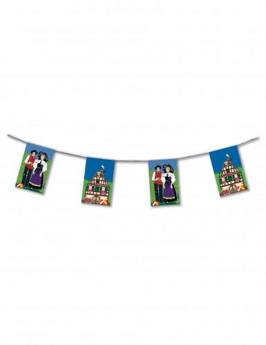 Festone di carta da 4 m in stile alsaziano