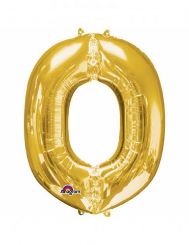 Palloncino lettera O dorato