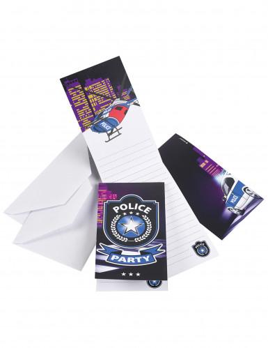 8 inviti tema polizia