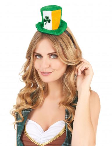 Cerchietto con mini cappello irlandese per adulti-1