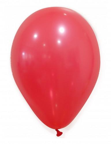 50 Palloncini rossi