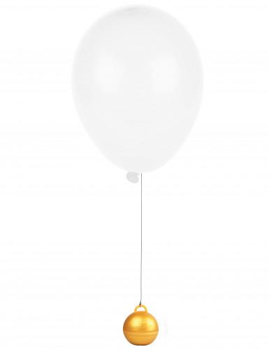 Peso dorato per palloncino ad elio -1