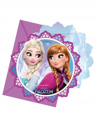 6 inviti Frozen™ con buste