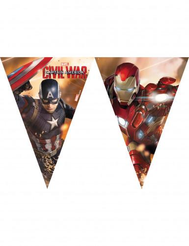 Ghirlanda in plastica Capitan America Civil War™